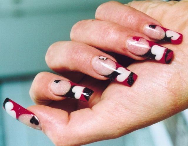 Модный маникюр 2012: лунный маникюр, дизайн ногтей, ногти.