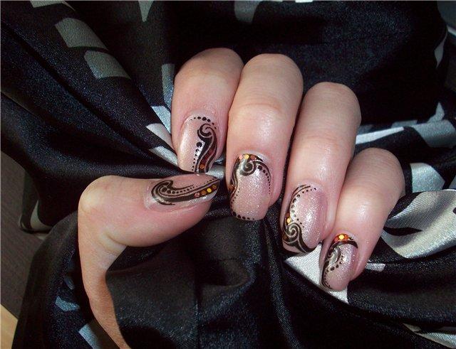 Что сделать на коротких ногтях?, Варианты дизайнов ногтей, обсуждение.